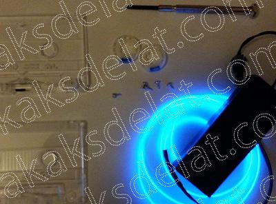 Как сделать светящиеся предметы которые светятся отраженым светом в темноте - светящиеся браслеты кроссовки найк со светящейся подошвой