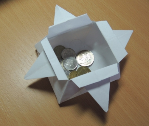 Как сделать шкатулку из бумаги оригами своими руками