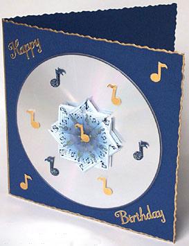 Как сделать красивую объемную музыкальую открытку маме папе онлайн бесплатно своими руками