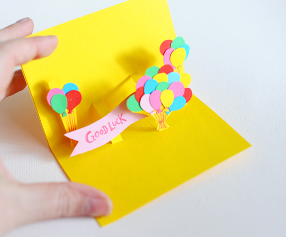Объемный подарок на день рождения своими руками