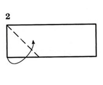 415Как сделать оригами из прямоугольной бумаги
