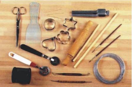 инструменты соленое тесто