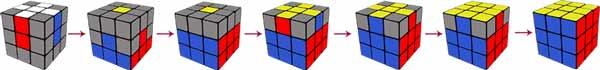 кубик рубика схема