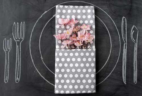 салфетка конвертом