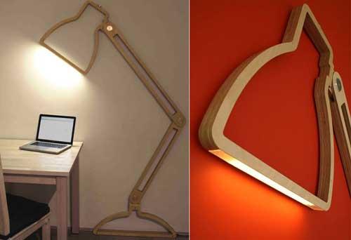 Дизайн настенного светильника