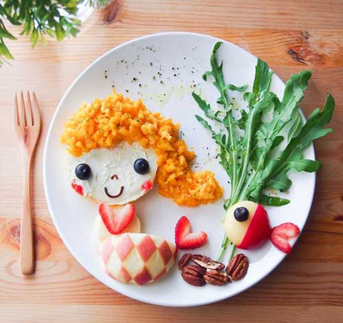 Картины для детей из самых обычных продуктов