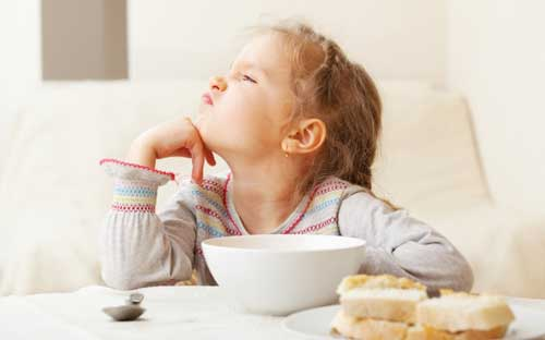 Ребёнок который не хочет кушать