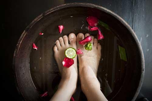 ванночка для ног в спа