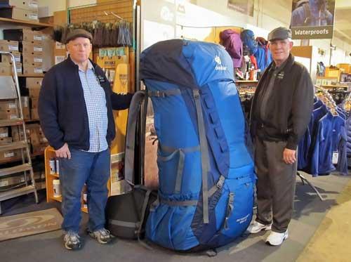 Какой обьём выбрать для туристического рюкзака