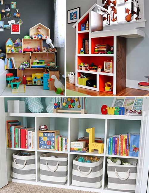 Детская комната хранение игрушек
