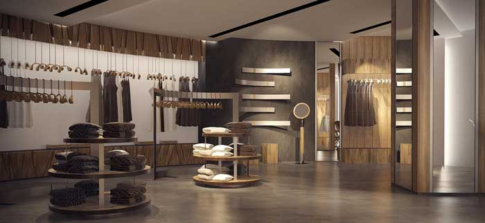 Дизайн торговых помещений в класическом стиле