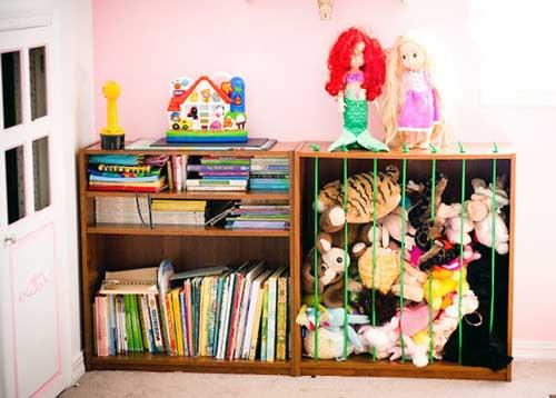 Хранение игрушек в ящике