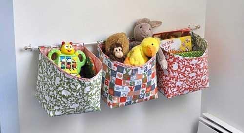 Хранение игрушек в подвесном состоянии