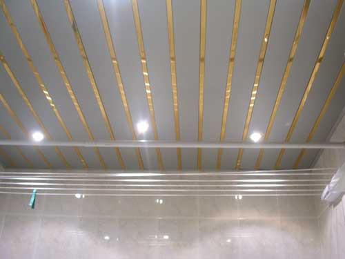 Реечный потолк