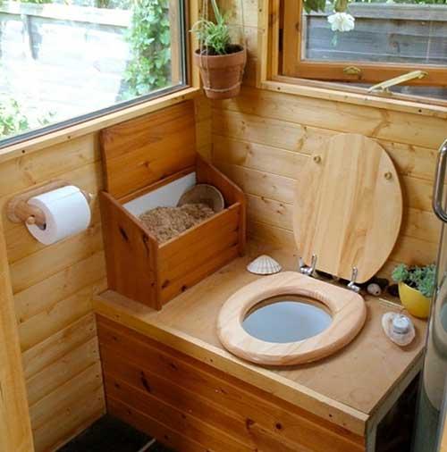 Интерьер туалета своими руками