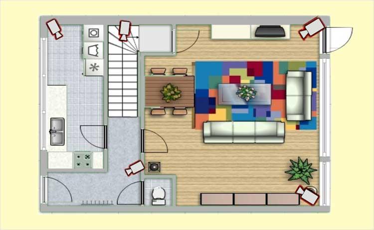 видеонаблюдение в квартире