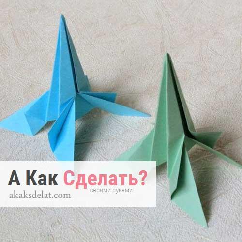 как сделать ракету из бумаги, картона, оригами ракету, аппликацию