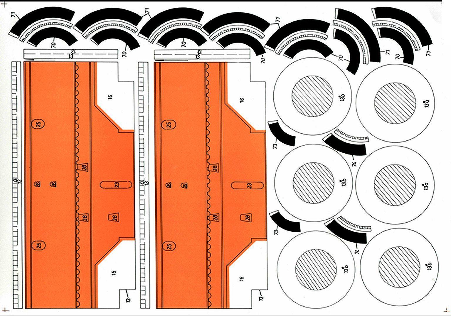 Схема ракеты на бумаге