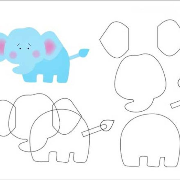 shablon-dlja-applikacii-slon