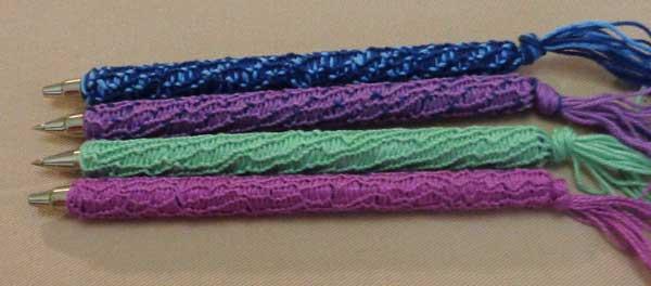 ручка оплетенная нитками