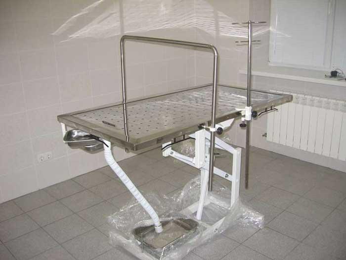 Операционный стол для животных