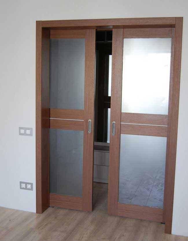 Карманные раздвижные двери