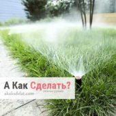 Как ухаживать за газоном своими руками