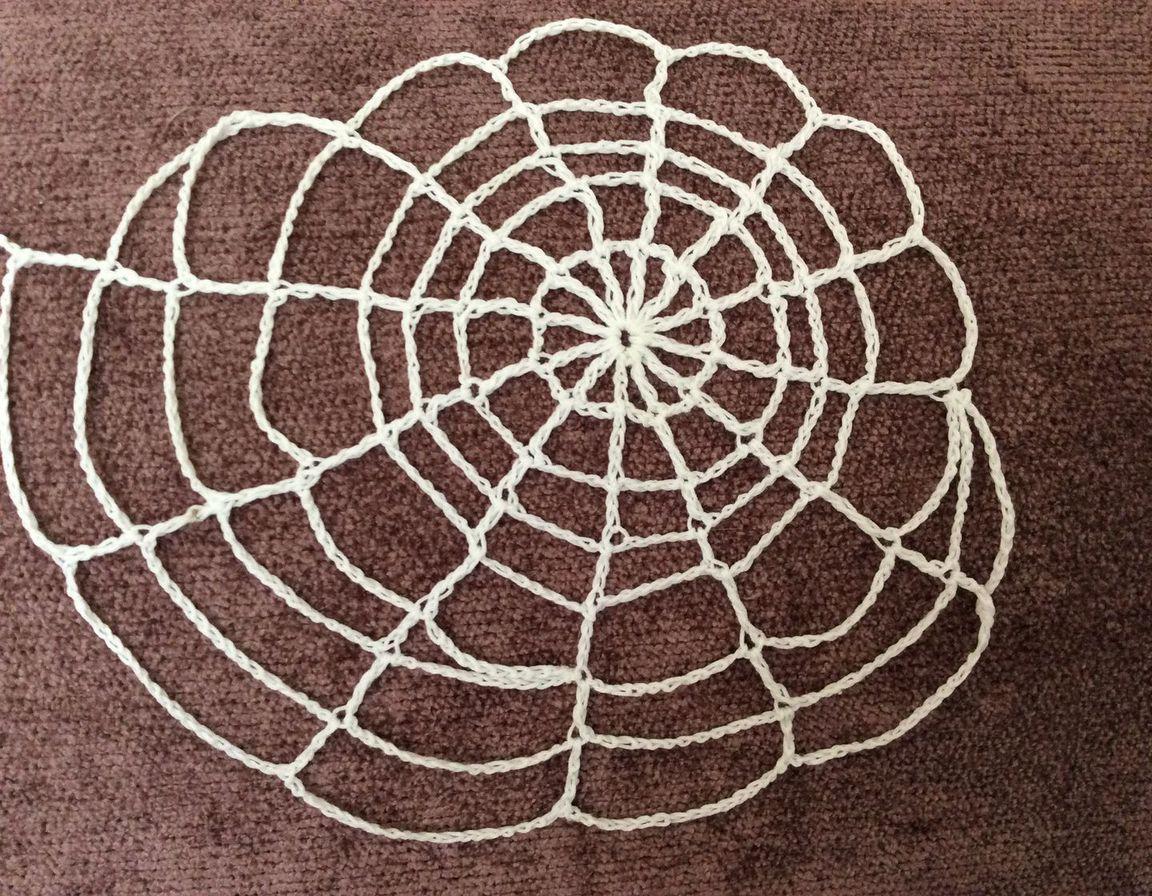 Вязаная паутина