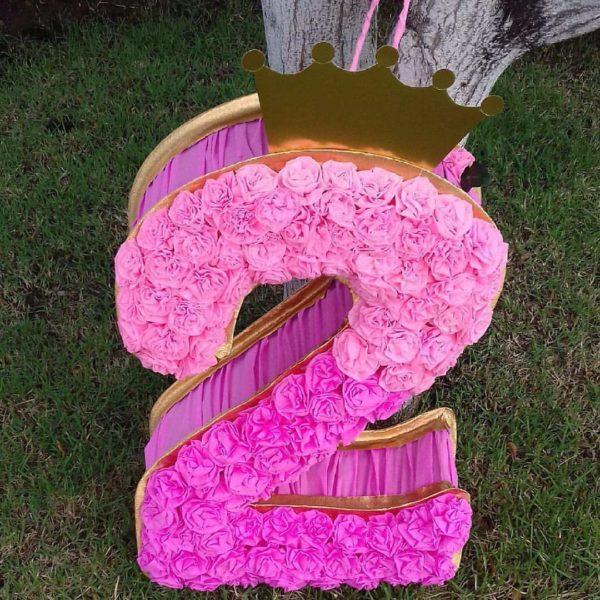 цифра 2 с короной