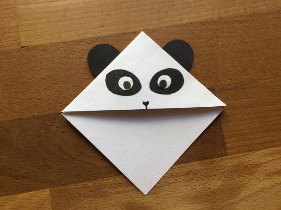 закладка панда