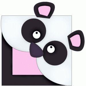 схема уголка панды