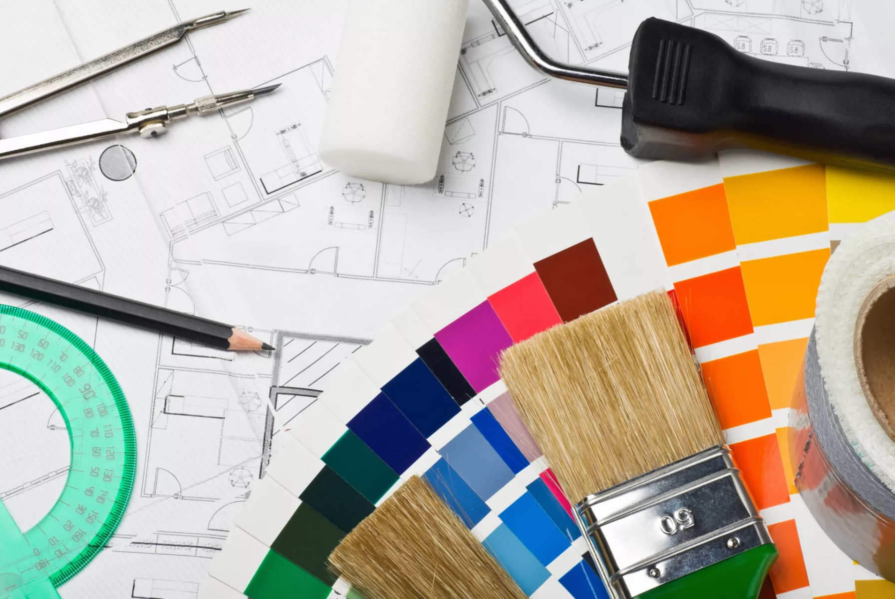 Ремонт в квартире - выбор цвета