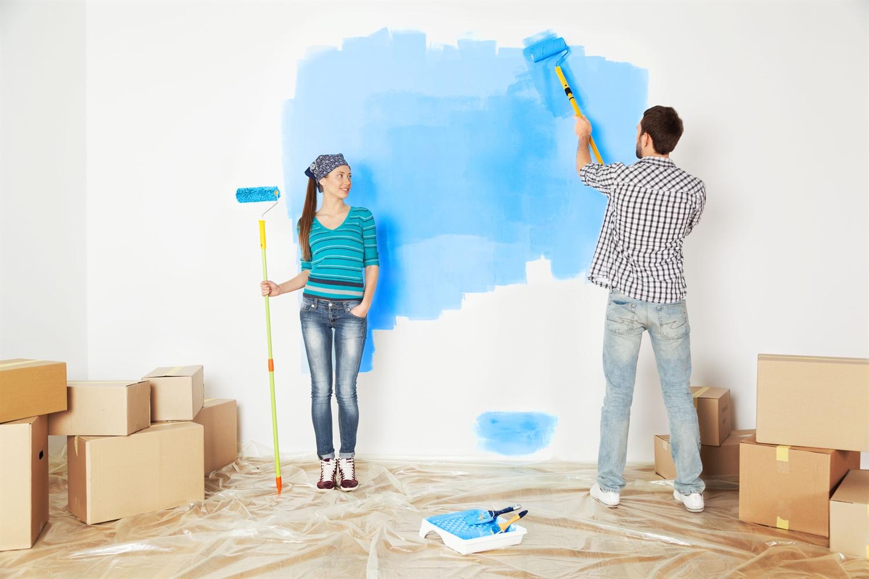 Ремонт в квартире - покраска