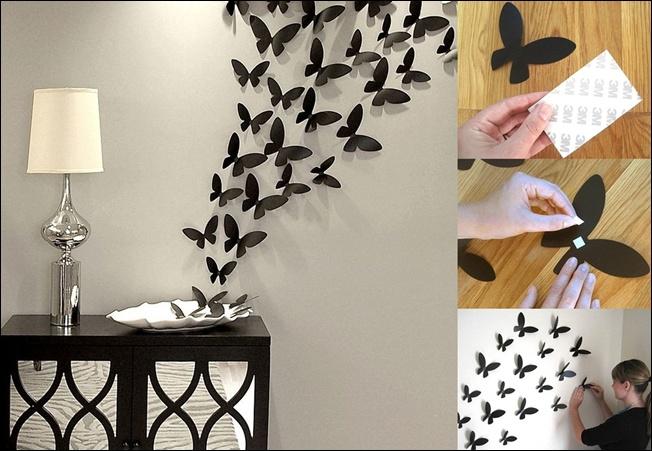 Изготовление бабочек
