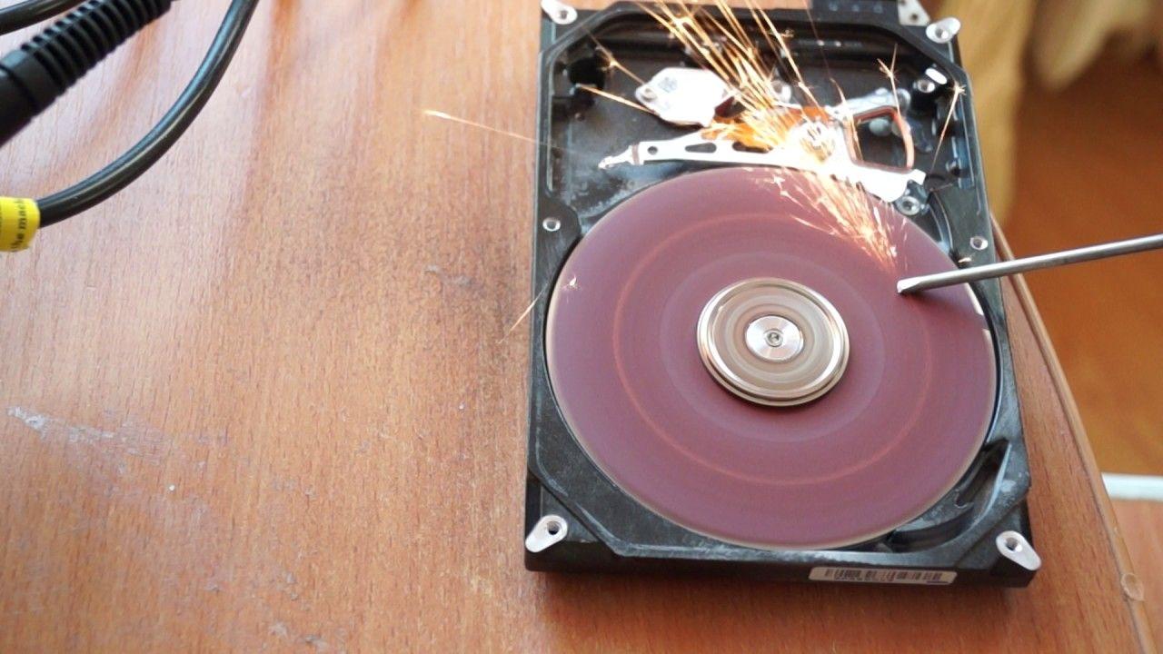 точильный станок из старого диска
