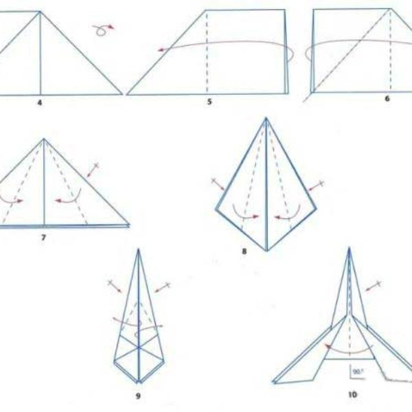 origami-raketa-iz-bumagi-sxema
