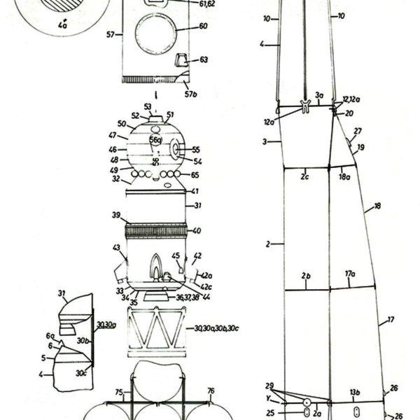 raketa-vostok-1-iz-bumagi-shema-sborki